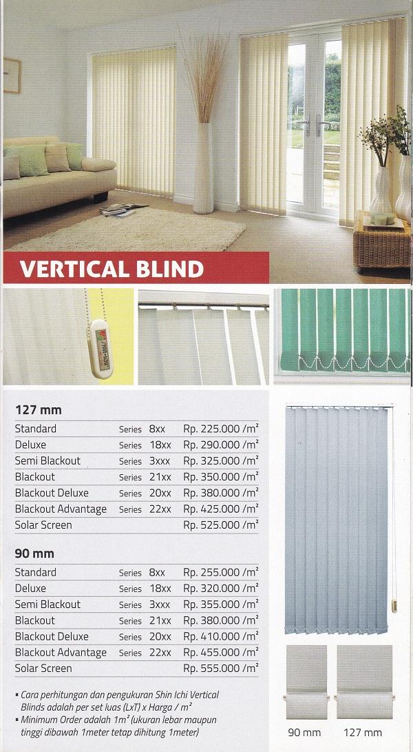 harga vertical blind shinichi makassar